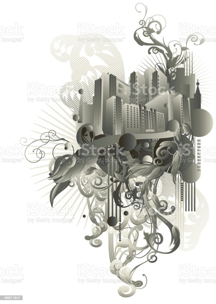 Urbanic - Royalty-free Architectuur vectorkunst