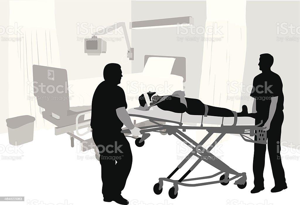 Urgent Care vector art illustration