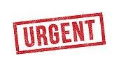 Urgent ink stamp