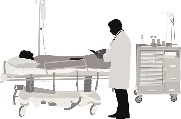 bildbanksillustrationer, clip art samt tecknat material och ikoner med urgentcare - sjukhusavdelning