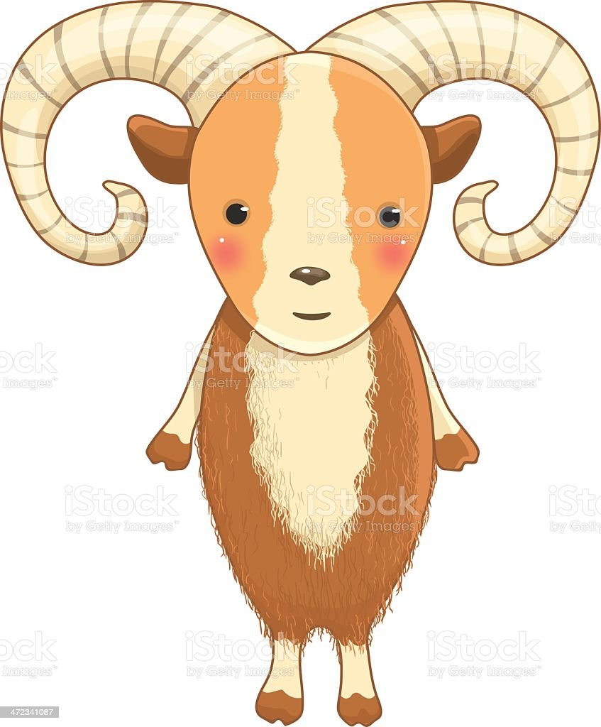 urial cartoon character royalty-free urial cartoon character stock vector art & more images of animal