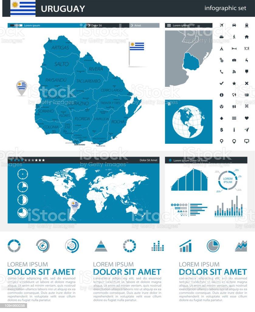 34 - Uruguay - Blue Gray Infographic q10