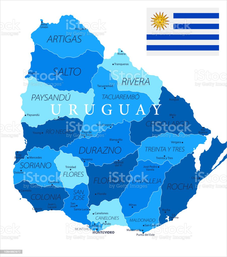 04 - Uruguay - Blue Spot Isolated 10
