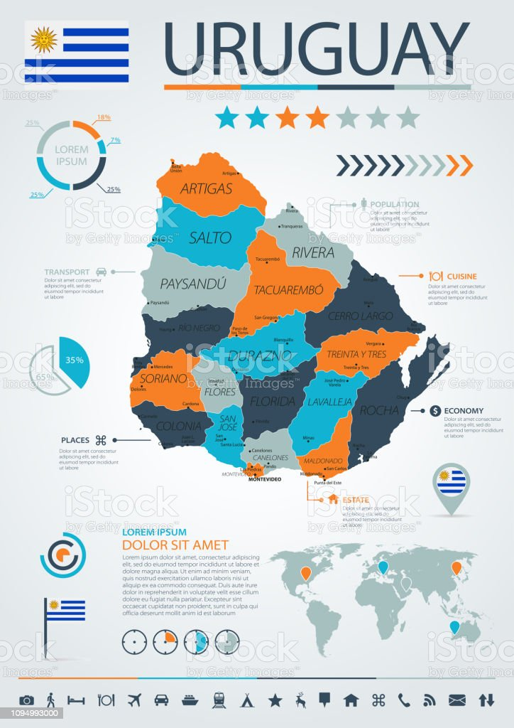 12 - Uruguay- Blue-Orange Infographic 10