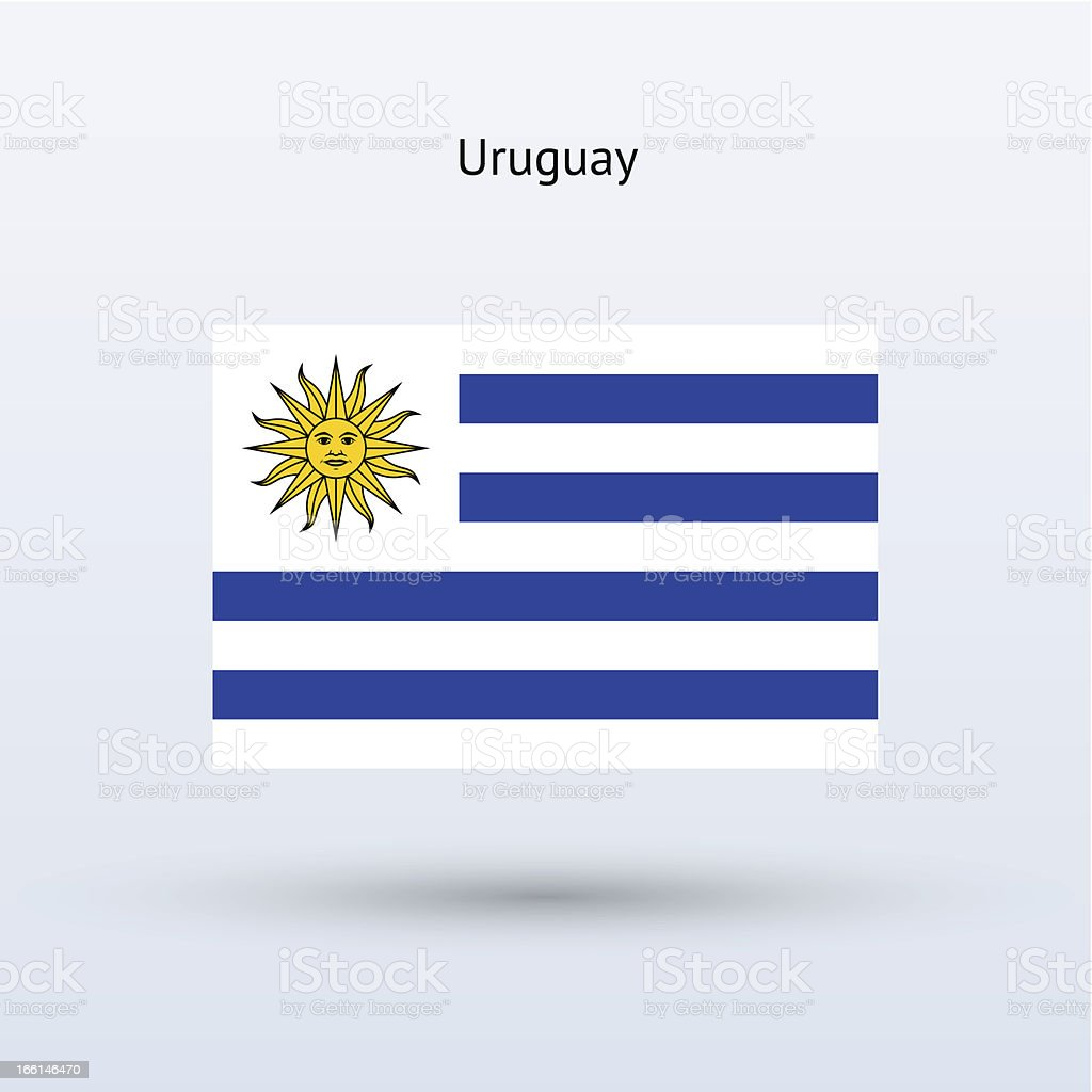 Uruguay Flag royalty-free uruguay flag stock vector art & more images of computer graphic