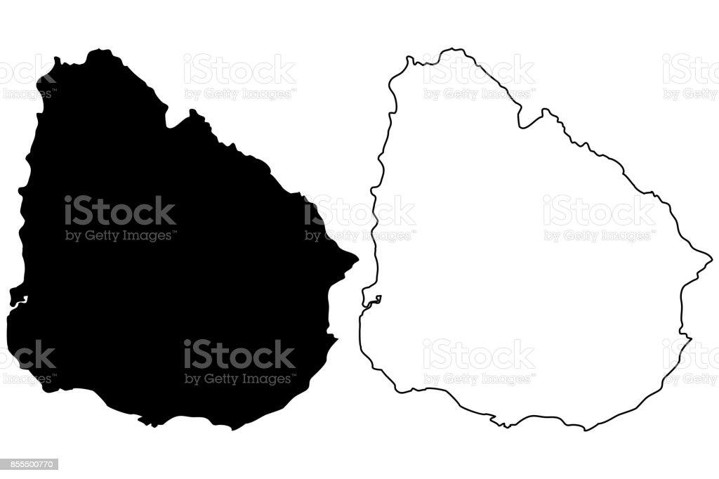 Carte Amerique Latine Uruguay.Vecteur De Carte Uruguay Vecteurs Libres De Droits Et Plus D
