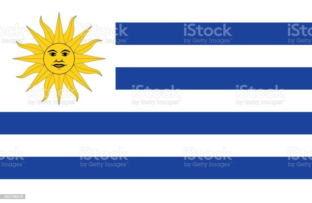 Uruguay - ilustración de arte vectorial
