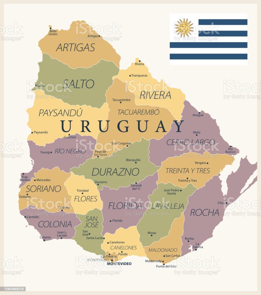 21 - Uruguay - Vintage Isolated 10