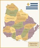36 -Uruguay - Vintage Isolated q10