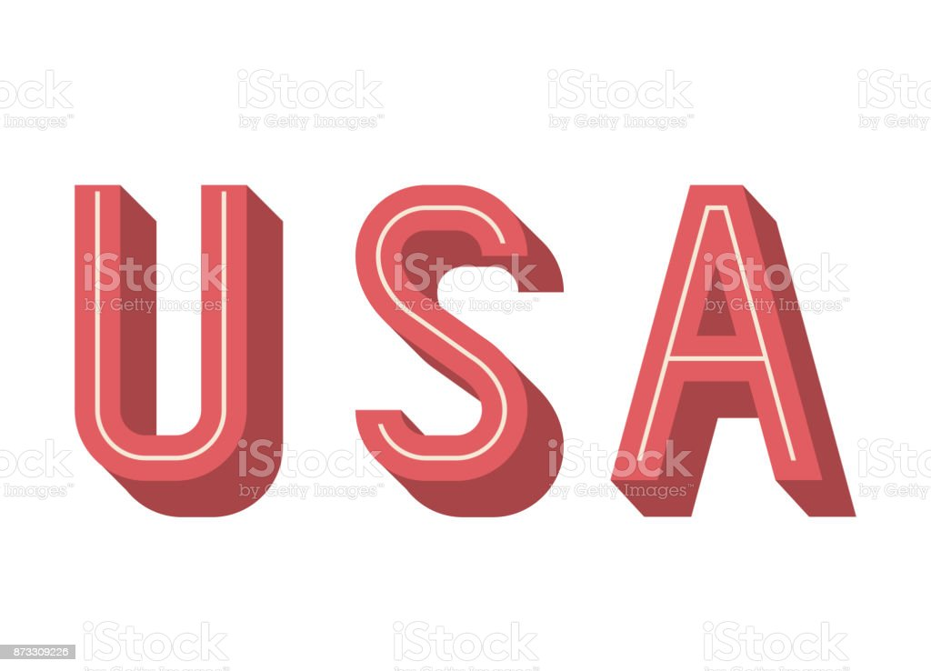 usa and Labor day icon. Patriotism Party festival and national theme....