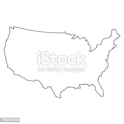 istock Usa map 835357658