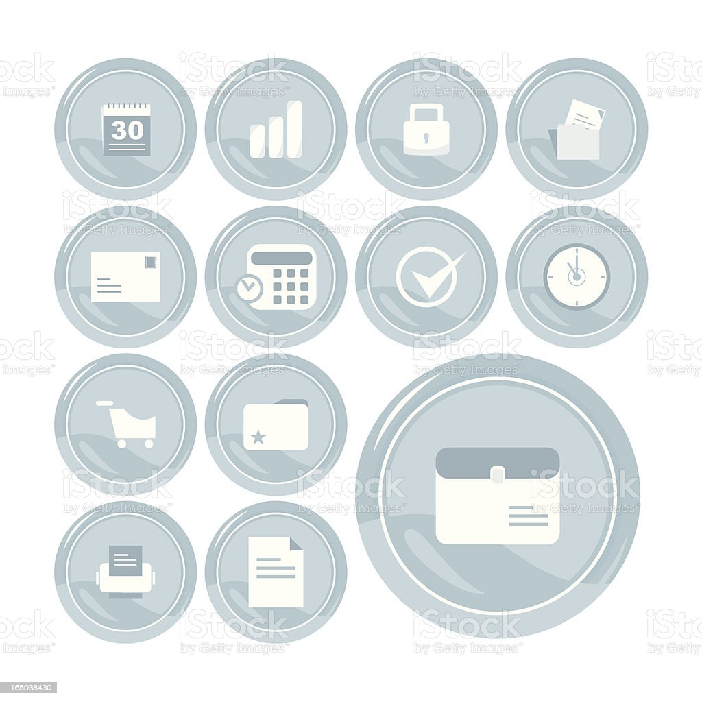 Useful Icon Set royalty-free useful icon set stock vector art & more images of bag