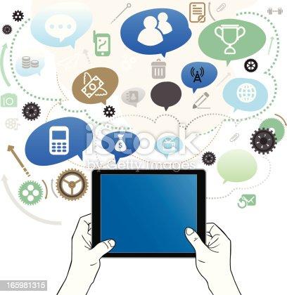 istock Useful Tablet 165981315