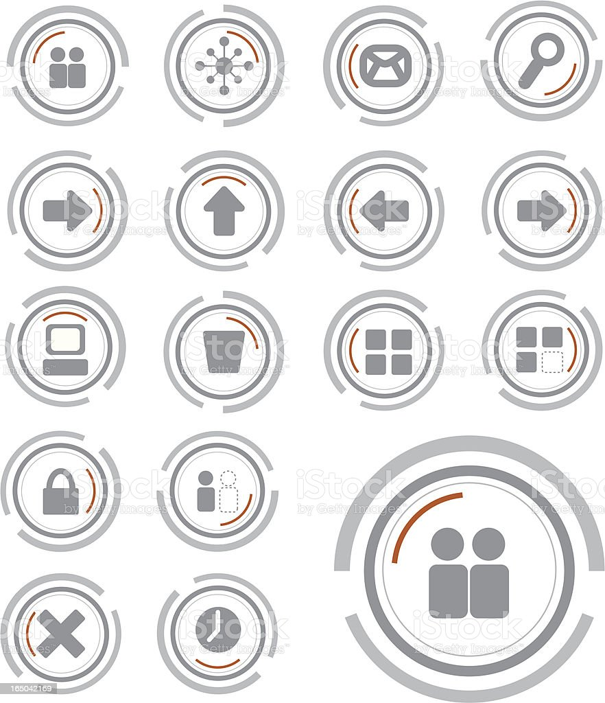 useful technology icons royalty-free useful technology icons stock vector art & more images of back to front