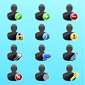 User Action Icon Set 2