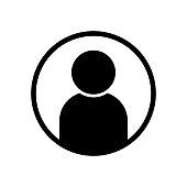 istock User avatar profile icon black vector illustration 1209654046