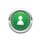 User Circular Vector GreenWeb Icon Button