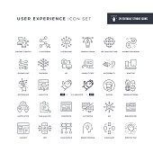 29 User Experience Icons - Editable Stroke - Easy to edit and customize - You can easily customize the stroke width