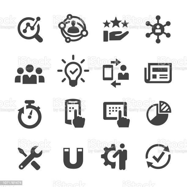 User Experience Icon Acme Series — стоковая векторная графика и другие изображения на тему Анализировать