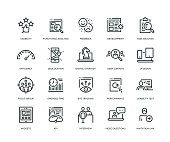 User Experience Icons - Line Series