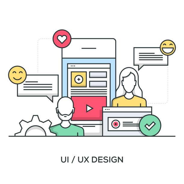 illustrazioni stock, clip art, cartoni animati e icone di tendenza di user experience - focus group