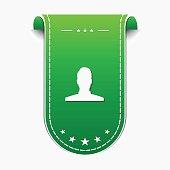 User  Green Vector Icon Design