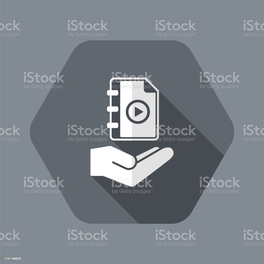 User Guide Book Minimal Icon Stock Illustration - Download