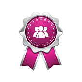 User  Pink Vector Icon Design