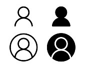 istock User profile login or access authentication icon vector illustration image. 1179573547