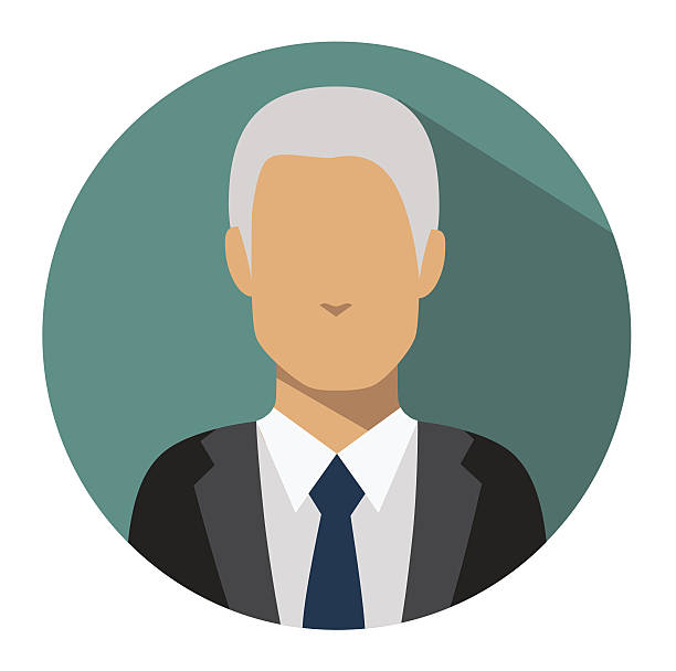 user sign icon. person symbol. human avatar. - old man illustration pictures stock illustrations, clip art, cartoons, & icons
