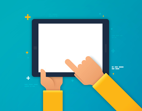 Tablet stock illustrations