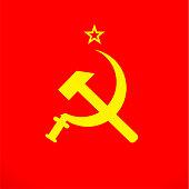istock ussr sickle and hammer soviet russia union  symbol 878524608