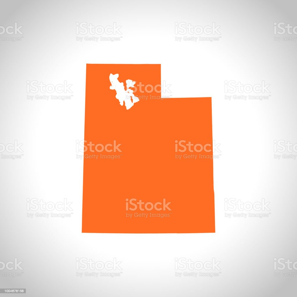 Utah map royalty-free utah map stock illustration - download image now