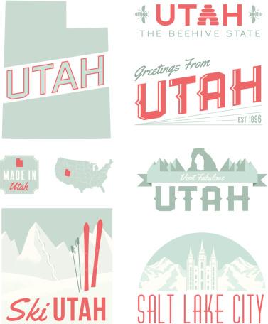 Utah Typography