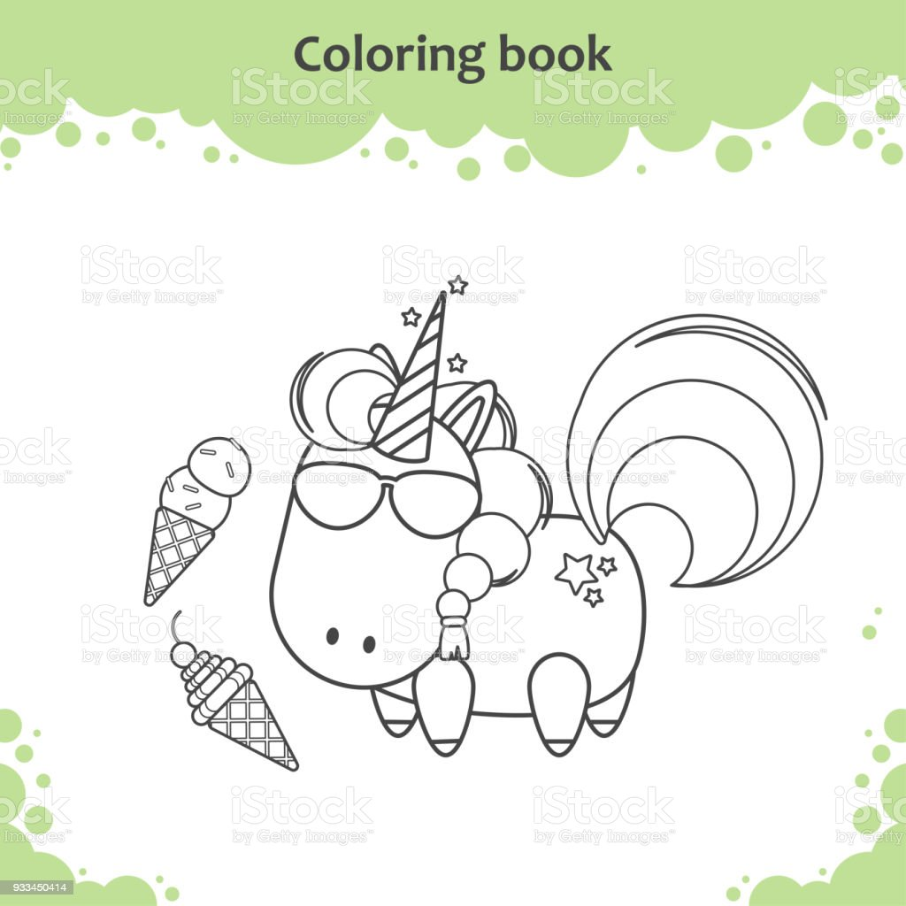 Get Inspired For Unicorn Ice Cream Coloring Pages ...