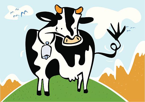 Royalty free vaca clip art vector images illustrations - Moviendo perchas ...