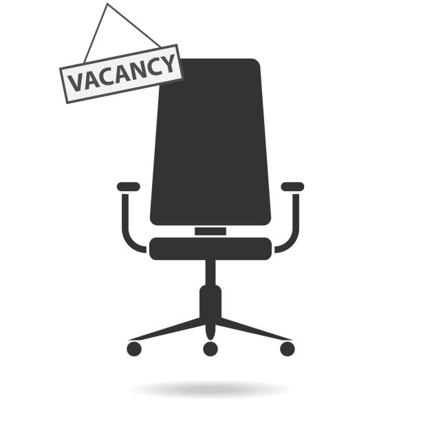 Vacant place, job search. Vacant place, job search. Flat design, vector illustration, vector. vacancy stock illustrations
