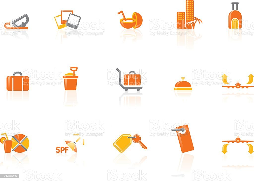 Vacation Icons royalty-free vacation icons stock vector art & more images of airplane