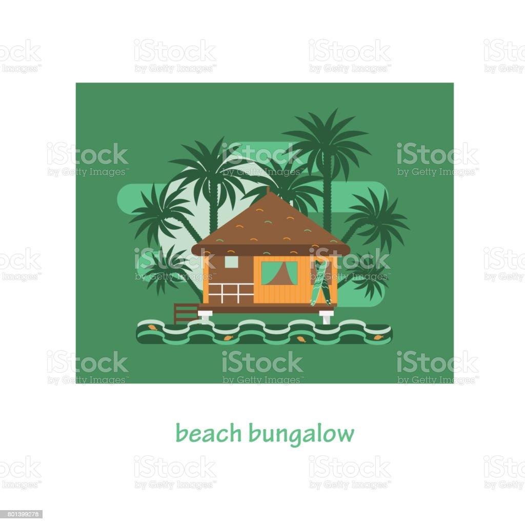 Romantische Tropischen Haus Oder Kleinen Strohhütte Zur Miete Oder Zum
