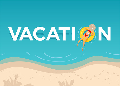 Vacation on the beach