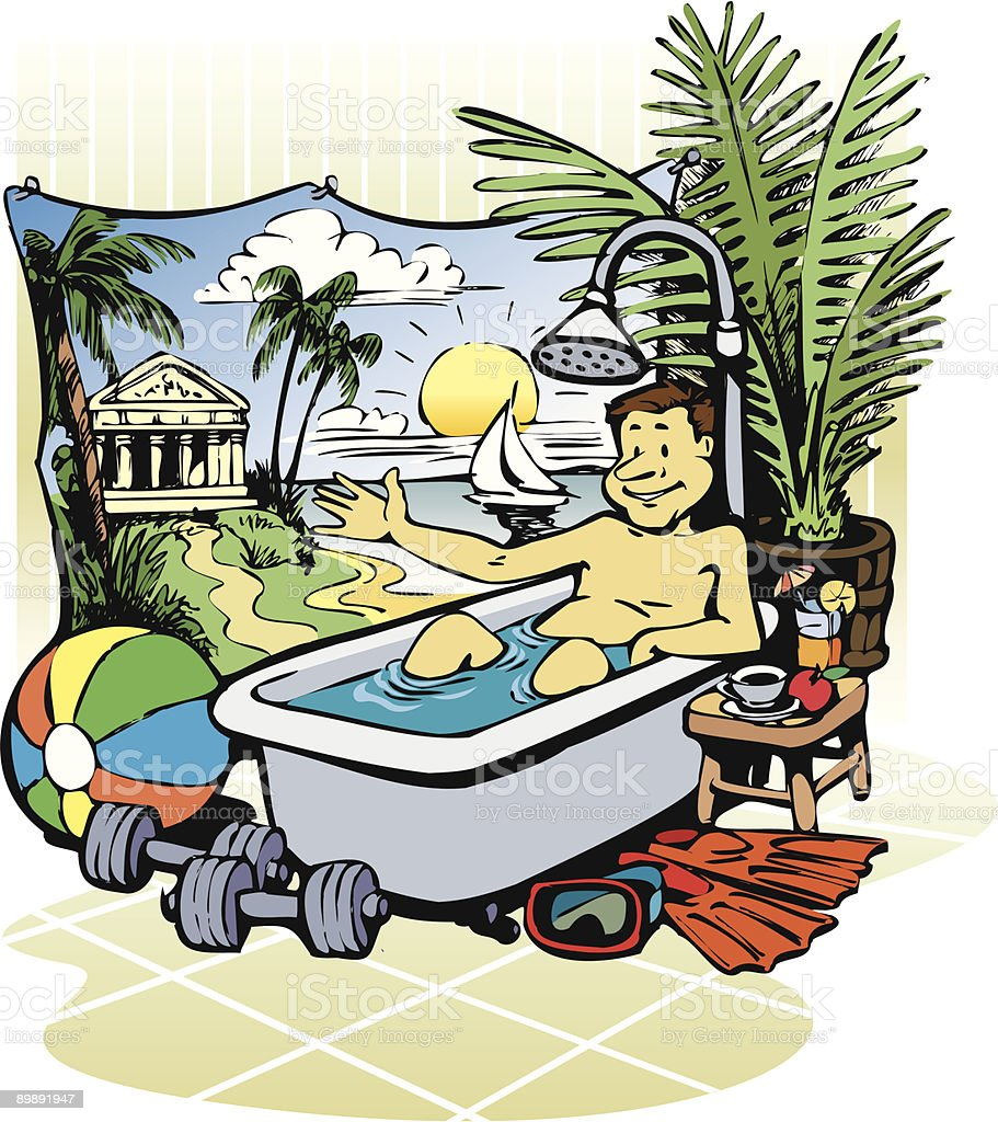 Vacation royalty-free vacation stock vector art & more images of adult