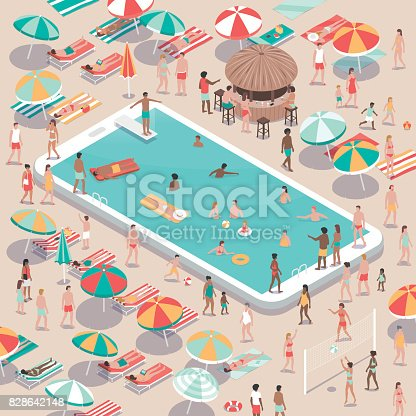 istock Vacations and technology 828642148