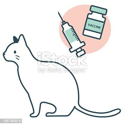 istock Vaccination Animal Hospital Cat Sitting 1337353310