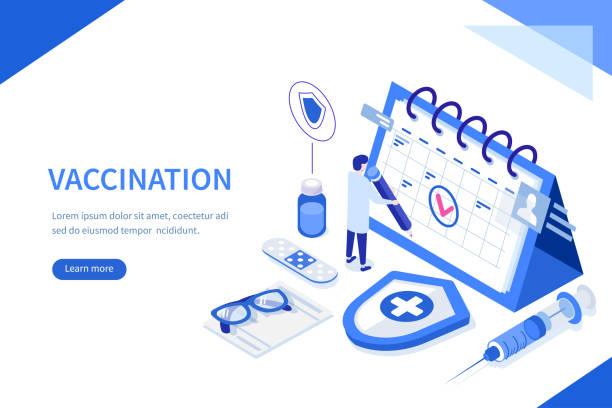 illustrations, cliparts, dessins animés et icônes de vaccination - vaccin enfant