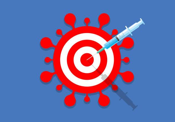 ilustraciones, imágenes clip art, dibujos animados e iconos de stock de vacunación - covid 19 vaccine