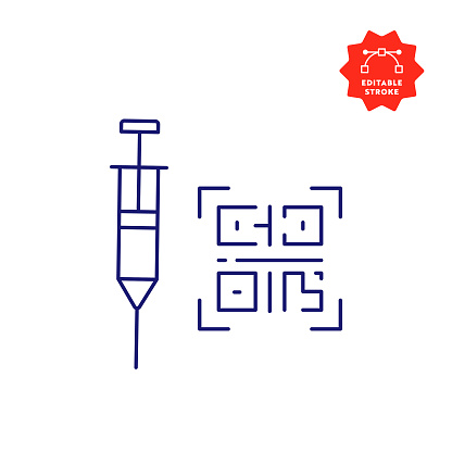 COVID-19 Vaccine Certificate Icon