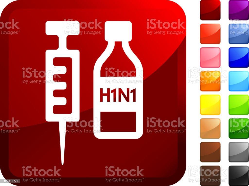 H1N1 vaccine internet royalty free vector art vector art illustration