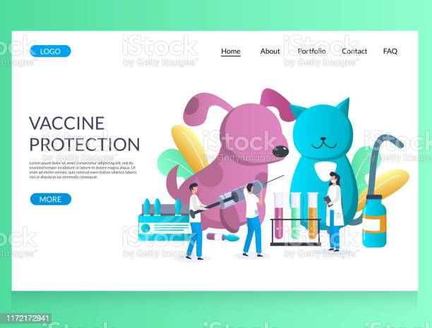 Vaccine protection vector website landing page design template vector id1172172941?b=1&k=6&m=1172172941&s=612x612&h=twmkvp aqldk7cuktrhtxgm4zft x2cu ob4pacaxfi=
