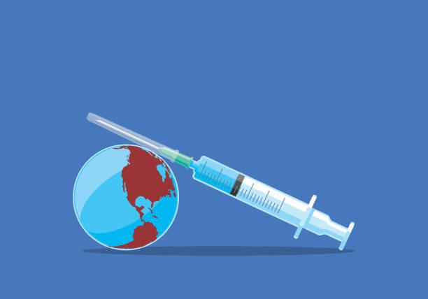 ilustraciones, imágenes clip art, dibujos animados e iconos de stock de vacuna - covid 19 vaccine
