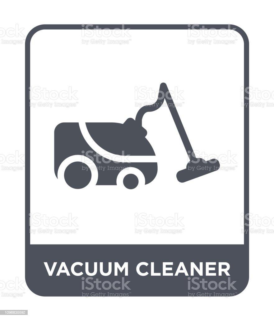 Vacuum Cleaner Icon Vector On White Background Vacuum